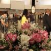 Brasília, DF — Convidados de representações religiosas e filosóficas caminham pela espiral da Nave do TBV em favor da Paz no mundo.