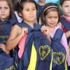 Palmital, PR – Todos os 38 alunos da Escola do Campo Coelho Neto, na região rural Arroio Moreira, receberam os kits pedagógicos da Campanha da LBV.