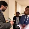 Haileselassie Subba Gebru, ministro-conselheiro da Missão Permanente da Etiópia para os Estados Unidos.