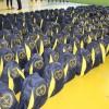 Palmital, PR - A Legião da Boa Vontade (LBV), em parceria com Secretaria de Assistência Social de Palmital, realizou aentrega de 300 kits de material pedagógico a rede pública de ensino na cidade paranaense de Palmital.