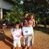 Dourados, MS-A Legião da Boa Vontade, em parceria com o Centro de Referência da Assistência Social (CRAS Indígena), entregou mais de 350 cobertores por meio da campanha