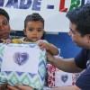 Ceilândia, DF - Neste último, 13 de junho, a caravana da Boa Vontade marcou presença na comunidade Sol Nascente/DF para entregar 80 cobertores às famílias atendidas pela organização Obras Sociais Grupo Espírita Fraternidade Irmã Celina.