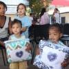 Ceilândia, DF -A caravana da Boa Vontade marcou presença na comunidade Sol Nascentepara entregar cobertores arrecadados por meio da campanha Diga Sim!, da LBV, às famílias atendidas pela organização Obras Sociais Grupo Espírita Fraternidade Irmã Celina.