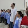 SÃO PAULO, SP — Todos os presentes elevaram o pensamento ao Cristo de Deus durante a Prece Ecumênica do Pai-Nosso.
