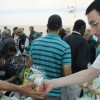 SÃO PAULO, SP — Voluntários da Religião Divina participaram da visita solidária ao Complexo Boracea em celebração ao Dia Mundial da Religião e ao Dia Nacional de Combate à Intolerância Religiosa. Na ocasião, foram entregues kits de lanche ao público, além de centenas de cestasde alimentos como doação ao centro de acolhida. Ao todo, uma tonelada de alimentos foi doada graças à parceria entre a Religião do Terceiro Milênio e a Legião da Boa Vontade (LBV).