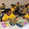 Joinville, SC: Por intermédio dessa iniciativa, a LBV beneficia com kits de material pedagógico e conjuntos completos de uniformes crianças, adolescentes e jovens de famílias de baixa renda em todo o Brasil.