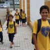 Joinville, SC: A campanha Criança Nota 10! disponibiliza aos atendidos kits de material pedagógico com cadernos, lápis de cor, canetas, dicionários e vários outros itens para o dia a dia na escola.