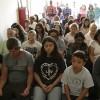 São Pedro da Aldeia, região dos lagos do Rio de Janeiro,RJ— Momentos de paz foram vivenciadospelo povo que acompanhou a inauguração da Sala Ecumênica no RJ.