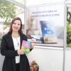 Durante o evento, Ana Pregardier autografou sua obra: