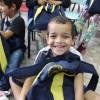 Chapecó/SC: LBV beneficia crianças que vivem em comunidades vulneráveis com kits pedagógicos para todo o ano letivo.