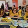 Taguatinga, DF - Para as crianças, o kit é uma motivação para que prossigam com os estudos, longe dos perigos das ruas; para os pais, os materiais pedagógicos são uma importante ajuda financeira, aliviando o orçamento de muitas famílias.