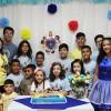 Fortaleza, CE — No 17º Fórum Internacional dos Soldadinhos de Deus, da LBV,as crianças foram recebidas com uma festa com direito a bolo, sucos, doces e surpresas. =D