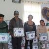 São Joaquim, SC—Muitas famílias receberam o amparo da LBV pela campanha Diga Sim!, que entregou cobertores na serra catarinense.