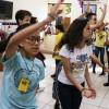 Goiânia, GO — As atividades contaram com muita diversão, danças e músicas.