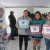 São Joaquim, SC— A sra. Marli de Fátima Rosa agradeceu o apoio prestado pela LBV nesse momento.