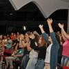 Brasília, DF - Jovens do corpo e da Alma participam do Festival Internacional de Música, da LBV.