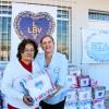 Tubarão, SC— A entrega dos cobertores contou com a parceria da Associação Tubaronense de Amparo às Familias (Stan).