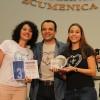 Brasília, DF - Juliana Glória e Luany Vieira, de Goiânia, GO, ficaram em 3º lugar no Festival Internacional de Música, da LBV.