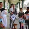 Mafra/SC: No extremo norte de Santa Catarina, famílias são beneficiadas com cobertores da campanha Diga Sim!, da LBV.