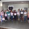 Blumenau/SC: A comunidade se reuniu no CRASGarcia para receber os cobertores da campanhada LBV