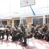 A solenidade teve início com o Hino Nacional Brasileiro, executado pela Banda de Música do 28º Grupo de Artilharia de Campanha do Exército.