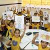 MANAUS, AM — Diversas oficinas foram realizadas durante o evento com o objetivo de levar as crianças a refletirem sobre a importância do Respeito e da Solidariedade na construção de mundo de Paz.