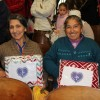 Xanxerê/SC: O sorriso de agradecimento aos colaboradores da LBV pelo presente para aquecer o inverno deste ano.