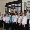 Porto Alegre, RS —O encontro ficou ainda mais feliz com a presença do Coral Ecumênico Boa Vontade e do Coral Comunitário Nair Torres, formado pelas valorosas mulheres Legionárias!=)