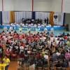 São José/SC: Ginásio Municipal de Esportes do Jardim Zanelatto foi o palco de muita solidariedade para a entrega de cobertores a famílias de baixa renda.