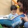 """Porto Alegre, RS — Os Soldadinhos de Deus, da LBV, já estão integrados na leitura do livro """"Vamos orar com Jesus"""". =D"""