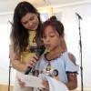 Porto Alegre, RS — Os Soldadinhos de Deus, da Legião da Boa Vontade, apresentaram os desenhos produzidos durante as oficinas no 17º Fórum Internacional dos Soldadinhos de Deus, da LBV.