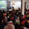 Porto Alegre, RS — Para coroar o evento, o público presente acompanhou atentamente as palavras do Irmão Paiva Netto, criador do Fórum Internacional dos Soldadinhos de Deus, da LBV.