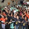 Rio de Janeiro/RJ — Cristãos do Novo Mandamento de Jesus acompanham as palavras do Irmão Paiva, que comanda a sessão solene do 43º Fórum Internacional do Jovem Ecumênico da Boa Vontade de Deus.