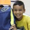 Manaus/AM - Sorriso de agradecimento das crianças que receberam, graças aos colaboradores da LBV, o incentivo para continuar os seus estudos.