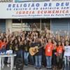 Rio de Janeiro, RJ — Juventude Legionária se reúne na Igreja Ecumênica da Religião Divina, no bairro de Riachuelo.