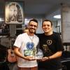 Brasília, DF — Christtian Raphael de Goiânia, GO fica com o 3º lugar noFestival Internacional de Música, da LBV.