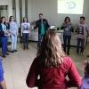 CURITIBA, PR –A Oficina de Teatro incentivou seus participantes à construção da arte aliada à Espiritualidade Ecumênica, isto é, aos valores do Bem, da Solidariedade e da Integração Benditacom o Pai Celestial.