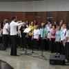 Brasília, DF — A Música Legionária sempre se faz presente nos Encontros da Religião Divina, levando paz econforto para todos os presentes, elevando os corações a Deus.