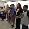 Rio de Janeiro, RJ – Cristãos do Novo Mandamento de Jesus participam do evento de inauguração da Sala Nair Torres, no bairro de Bangu.