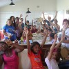 FLORIANÓPOLIS, SC —Jovens Militantes da Boa Vontade de Deus levam carinho e muita animação a Casa Lar, promovendo muitas atividades artísticas.