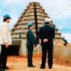 Janeiro, fevereiro e março/1988: Paiva Netto vistoria asobras do TBV; prosseguem as escavações na área ao redor daNave do Templo, onde funcionarão os anexos.