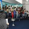 Uberlândia, MG—Os jovens encerram a Cerimônia fazendo o seu Juramento de Fidelidade à Jesus e aos ideiais Fraternos da Religião Divina.