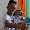 Rio de Janeiro, RJ — O jovem legionário fez questão de registrar sua nova aquisição literária: a obra