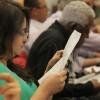 Na oportunidade, todos os participantes deram suas opiniões e sugestõesatravés do questionário de avaliação.