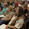 Público acompanha atento painel temático do Fórum Mundial Espírito e Ciência, da LBV.