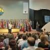 Público superlota o Plenário José de Paiva Netto eacompanha atento as palavras do dr. Julio Peres explanandosobre