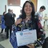 Ana Maria Magalhães, presidente e fundadora da Academia de Letras Sagrada Família, de João Pessoa/PB, participou do evento.