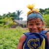 Rondonópolis, MT — Crianças daAldeia Tadarimana recebem kits pedagógicos da LBV para mais um ano letivo