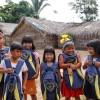 Rondonópolis, MT — LBV apoia educação de crianças e adolescentes indígenas com os kits pedagógicos.