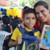 Terersina/PI - Famílias atendidas felizes registram em seus corações o recebimento dos kits pedagógicos!